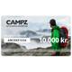 CAMPZ Gavekort 10000 kr.